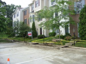 Before- Concrete Services in Maryland