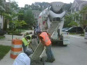 Concrete Curb Repairs in Maryland
