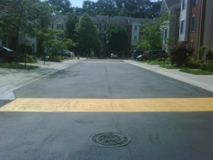 Installed several speed humps